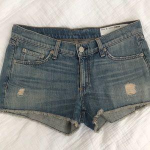 Rag & bone jean short cut-offs